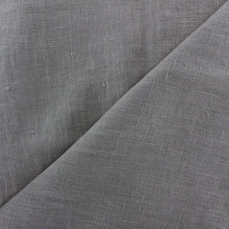 e554bad9dc914 Tissu lin lavé Thevenon - gris souris x 10cm - Ma Petite Mercerie