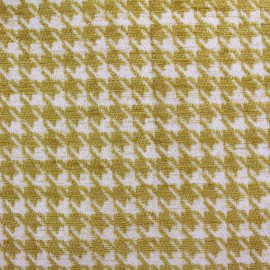 Jacquard fabric Boston - mustard x 10cm