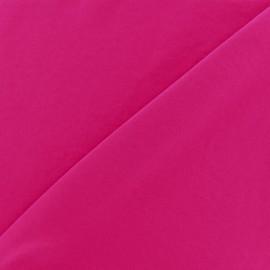Tissu fluide effet soie lavée - fuchsia x 10 cm