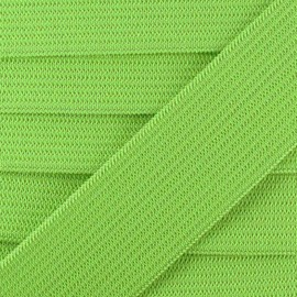 Flat elastic Color - light green