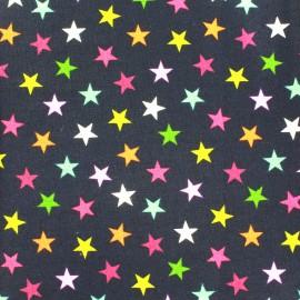 Makower UK cotton fabric Wrap it up star - blue x 10 cm