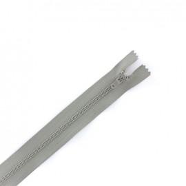 Fermeture à glissière non séparable spécial pantalon -  gris acier