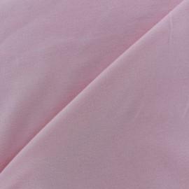 Plain jersey fabric - pink light x 10cm