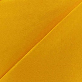 Plain jersey fabric - yellow x 10cm
