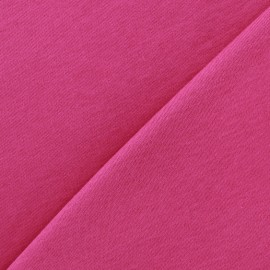 Plain jersey fabric - fuchsia x 10cm