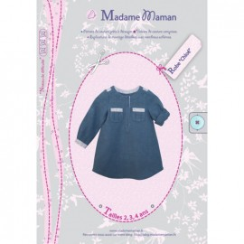 Dress sewing Pattern - Madame Maman Chloé