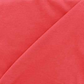 Plain jersey fabric - red x 10cm