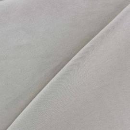 Tissu Jersey uni 100% coton - beige x 10cm