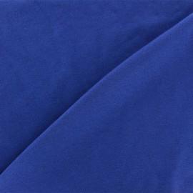 Plain jersey fabric - blue king x 10cm