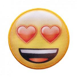 Thermocollant toile Emoji™ - Je suis fan !
