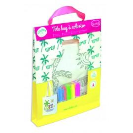 Kit Tote bag à colorier + 5 feutres - Floride