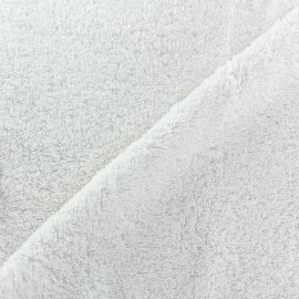 Towel fabric Balnéo - white x 10cm