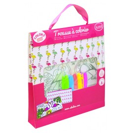 Kit Trousse à colorier + 5 feutres - Hawaï