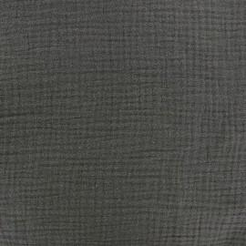 Double gauze fabric - Grigri x 10cm