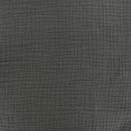 Tissu double gaze de coton Grigri x 10cm