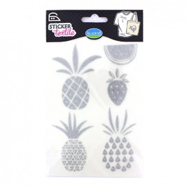 Stickers textiles - Fruits exotiques