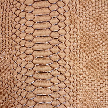 Simili cuir Comodo - beige x 10cm