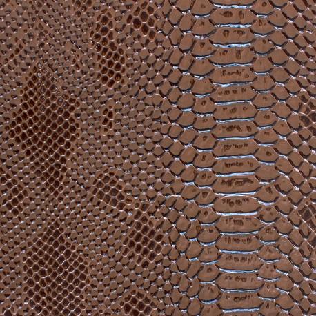 Simili cuir Comodo - camel x 10cm