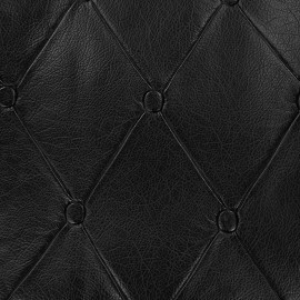Imitation leather Chester - black x 36cm