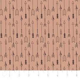 Tissu Camelot Fabrics Equestrian Arrow - sugar x 10cm