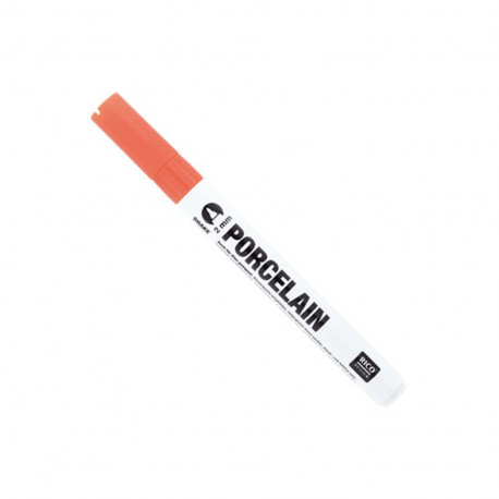 Porcelain marker 2 mm - orange