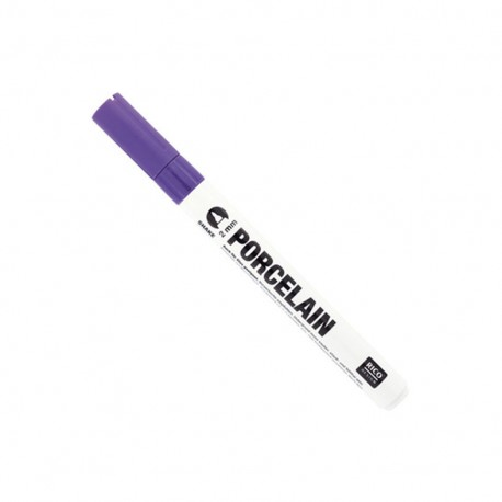 Porcelain marker 2 mm - purple