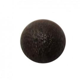 Bouton métal demi-boule cuivre