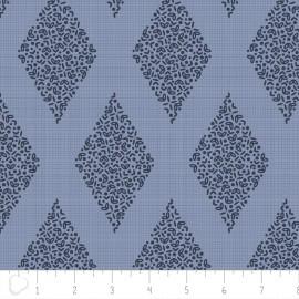 Camelot Fabrics Alchemy Diamond - blue x 10cm