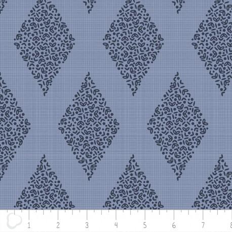 Tissu Camelot Fabrics Alchemy Diamond - blue x 10cm