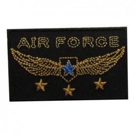 Air Force rectangulaire noir