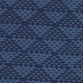 Hoffman fabrics Padang - indigo x 10cm