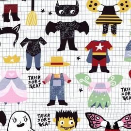 Fabric Dear Stella Costume party - multi  x 37cm
