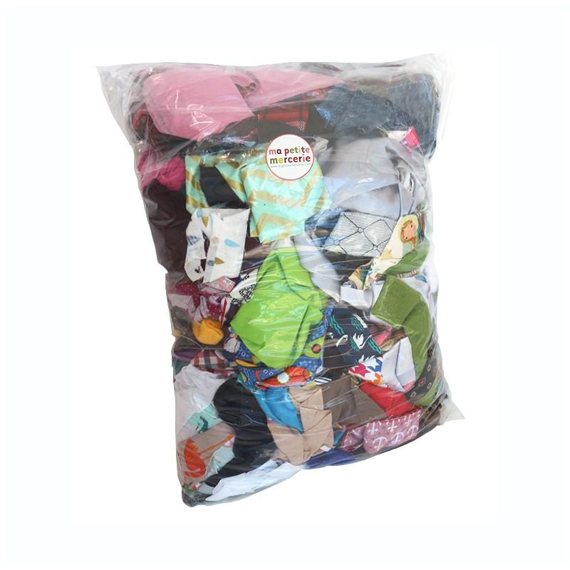 chutes de tissus sachet de 2 5 kg ma petite mercerie. Black Bedroom Furniture Sets. Home Design Ideas
