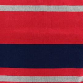 Tissu jersey viscose Bayadère - Fabio x 62cm