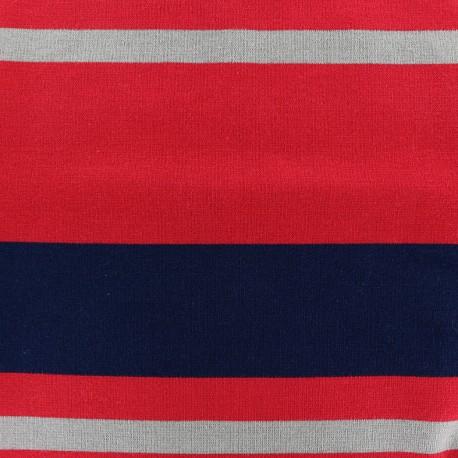 Viscose jersey fabric Bayadère - Fabio x 62cm