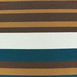 Tissu jersey viscose Bayadère - Tom x 44cm