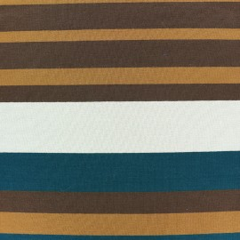 Viscose jersey fabric Bayadère - Tom x 44cm