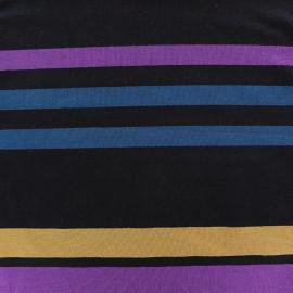 Tissu jersey viscose Bayadère - Aya x 58cm