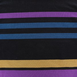 Viscose jersey fabric Bayadère - Aya x 58cm