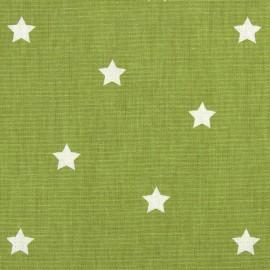 Tissu coton enduit vernis Twinkle - eucalyptus x 10cm