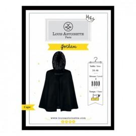 """La cape gotham"" sewing pattern"