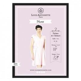 """Robe Plume"" sewing pattern"