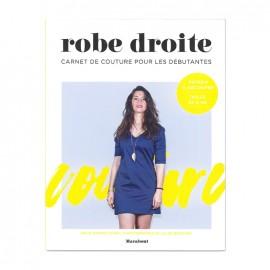 """Livre """"Robe droite - Carnet couture pour les débutantes"""""""