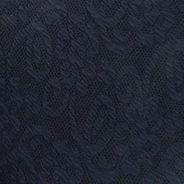 Tissu Jersey jacquard Baya - marine x 10cm