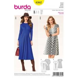 Patron Robe Burda n°6562