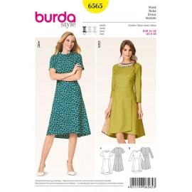 Patron Robe Burda n°6565