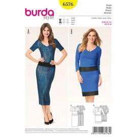 Patron Robe Burda n°6576