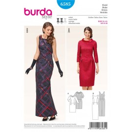 Patron Robe Burda n°6585