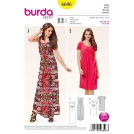Patron Robe Burda n°6606