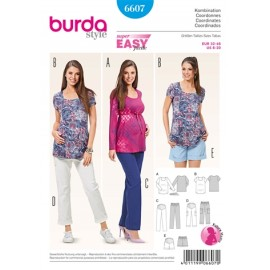Coordonates Burda Sewing Pattern N°6607